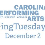 One week till #GivingTuesdayUNC. Help us further our mission of artistic excellence on Dec 2. http://t.co/Pg1gI6bJyH http://t.co/ropH6NRLdi