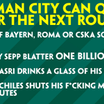 The #MCFC qualification scenario is a bit confusing, but to help you out, here are four ways they can progress: http://t.co/ump7BLp9ct