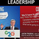 We need a strong, capable & experienced leader like @PMHarper. @JustinTrudeau is none of those. #cdnpoli #CPC http://t.co/fOjinlpUwG