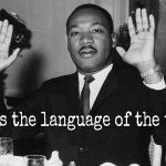 A riot is the language of the unheard. ~ MLK #Ferguson http://t.co/U1hL1b59Wg @LftSentThis