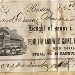 #19thc receipt for #Harvard purchase of 1,100 pounds of turkey includes elegant view of #Faneuil Hall in #Boston. http://t.co/yDI6iXXABw