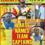 Accra Hearts of Oak Official Mouthpiece HEARTS NEWS is out today. Grab a copy near you [Hearts Names Capos] #AHOSC http://t.co/H4QBwVkBFB