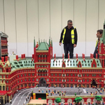 Yep that IS St Pancras made outta bricks! See it @legoshow plus loads more #london snizzle http://t.co/n8d76qR0EI http://t.co/CftNTh9QVY