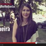 """Diputada UDI Claudia Nogueira se """"rebela"""" por indignidad del Transporte Público, rodeada de autos de lujo #YoMeRebelo http://t.co/P4AX3oQPoz"""