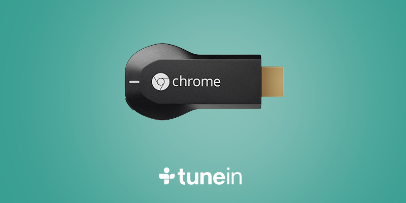 TuneIn is now available on #Chromecast! Follow & RT to #WIN 1 of 5 Chromecasts now! T&C: http://t.co/FmbwZjTEN9 http://t.co/dEOHyUWChr