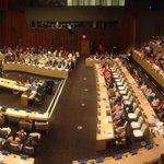 Inicia acto conmemorativo por Día para la Eliminación de la Violencia Contra la Mujer en la ONU. #NYC #orangeurhood http://t.co/KQZJspW0qS