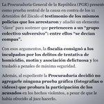 """@gisela_pda: #YaMeCansé ~> La prueba central que los detenidos el #20novMx @AlfredoLecona http://t.co/PWJ4NJC31q"" // no han ido a Culiacán"