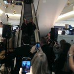 Look who has been causing a stir @Selfridges in #Manchester today - @officialclancy with @ctilburymakeup http://t.co/dGfOyfpKYo