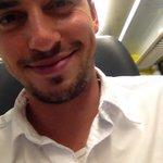 Im Zug nach Basel, Stimmung: Gut! Mal schauen wie sie in der Balz sein wird...???? wish me luck! http://t.co/yQyD9thSHh