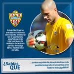#SabíasQue   Rubén Martínez entró ayer en la historia de porteros de la @U_D_Almeria con este récord: http://t.co/tuMEsdmFBb
