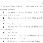 Document: Ferguson officer Darren Wilson's grand jury testimony http://t.co/3zckCyEEEc http://t.co/SB8Ip0T4ES