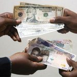 The CBN today devalue Naira by 8.38% to curtail pressure for foreign exchange due to failing price of crude oil. http://t.co/ZKBhCKaD5c