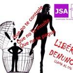 Orgulloso de los jóvenes de @jszaragoza @jsz_ciudad  y @jsaragon por luchar contra la violencia de género. Carlos http://t.co/ZgQrvWDGP2