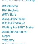 RT @DDLJ: Here's another reason to raise a toast today! #DDLJNewTrailer is trending. Watch it again now- http://t.co/yUWBFuhLYo http://t.co…