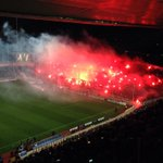 Picture: Flares at the stadium #fcblive [via @edupolo] http://t.co/x5hUvXqXW2