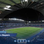 CITY V BAYERN: We are counting down to kick-off at the Etihad Stadium (19:45 GMT). Come on,City! #mcfc #cityvbayern http://t.co/WwDvtmnLes