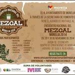 Encuentro Nacional del Mezcal, los días 28, 29 y 30 de noviembre en el Jardín del Centro de Convenciones. @SEFECO_M http://t.co/dtTfWHURks