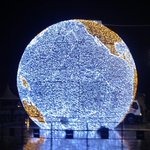 En avant-première : La Mappemonde illuminée de ses 65 250 leds sur la Comédie à #Montpellier http://t.co/UgjHKUQQrY http://t.co/VOt46LG2RK