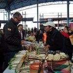 VP @JorgeGlas visita los stands de la Feria de Emprendimientos del sector de la Economía Popular y Solidaria #Pujili http://t.co/6MUkUm7179