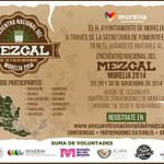 """""""Encuentro Nacional del Mezcal"""", los días 28, 29 y 30 de noviembre en el Jardín del Centro de Convenciones. http://t.co/QEO8JHtdF3"""