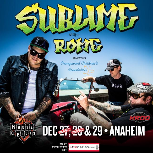 Hookup Alert! First 50 people to retweet & follow will have a chance to win tickets to see @sublime at @HOBAnaheim! http://t.co/m4wZStuXFf