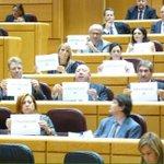 Felicitats a  @jlcleries i a tots els senadors catalans que avui shan autoinculpat al Senat espanyol. 👏👏👏👏 http://t.co/0jlDGAvXIK