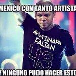 Lo qe a los artistas Mexicanos les falta a este chico le sobran @TigreCeballos @HectorLeiter @luisrg01 @EPN http://t.co/Nt98gxdykd