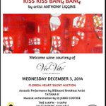 "Get Ready For ""Art Basel Kick Off :Kiss Kiss Bang Bang"" Wed December 3rd with Anthony Liggins 6pm @VintroHotels http://t.co/XalkTElDpD"