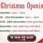 We are open 7 days a week!Discover the great #Dunlaoghaire ChristmasFestival http://t.co/t4BJwpaLlx #Dalkey #Dublin http://t.co/NAGU6rhCMj