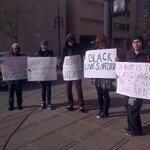 Downtown #Denver NOW protesting #Ferguson #FergusonDecision #Blacklivesmatter http://t.co/iy4b1PYiuT