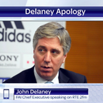 The head of the FAI, John Delaney, has apologised for singing a pro-Republican song in a Dublin pub. #SSNHQ http://t.co/bFFTliPq3q