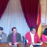 """Rueda de prensa del """"Encuentro Nacional del Mezcal"""", días 28, 29 y 30 de noviembre #MoreliaProductivo http://t.co/p7OqyuU7O5"""