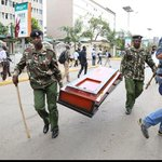 This photo best describes the security situation in the country; DEAD #OccupyHarambeeAve #Tumechoka #ManderaBusAttack http://t.co/UIq87TFn6S