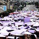 Galicia se tiñe de violeta para conmemorar el Día contra la Violencia hacia las Mujeres http://t.co/A3I0YnmoNl http://t.co/bCe9VxASQ0