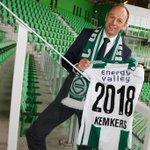 Gerard Kemkers manager Performance Center FC Groningen; het project '2018: talenten op één' staat centraal. #trots http://t.co/Metyk92Ga1