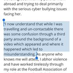 john delaney finally clears up that issue of how his lawyers ended up telling the guardian it wasnt him in the video http://t.co/v70Wqyxfdc