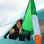 Welcome home, @KatieTaylor! 🙌 #fivetimes #champ http://t.co/CtFx0KENYc