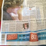 Biggest day of political scandal in ages yesterday and this is the cover of Wellington's daily newspaper. http://t.co/4ddlX4at2F