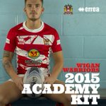 #WiganWarriors and @ErreaOfficial have today launched the Clubs first ever Academy shirt http://t.co/hC5i02AQjf http://t.co/tBSBV1qePg