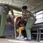 Arrested. Assaulted. She still jumped off a police truck and escaped! #OccupyHarambeeAve http://t.co/cdaJEZK1eR