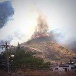 [LO ÚLTIMO] Se registra incendio forestal en vía Perimetral a la altura de Los Ceibos @bomberosgye atiende emergencia http://t.co/SgeEdCrBU0