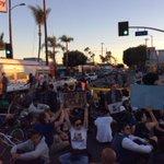 Western and MLK now. #Ferguson #LosAngeles #southla http://t.co/qXaFJ3lsRF