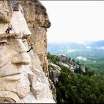 Mount Rushmore, up real close. http://t.co/KmFRPQbdIh