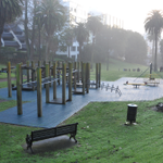 Myers Park playground before & after. The transformation is complete & it is open for children to play! #mycityAKL http://t.co/ac5nqdYX6n