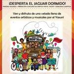 Mañana 19:00 AntiguoHosp.Militar  Velada festiva @Yasunidos  Todas, todos, invitados!  DespiertaElJaguarDormido http://t.co/KHbdatfbSL