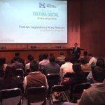 """.@JuanPabloAdame expone """"Legisladores Digitales"""", la importancia de comunicar avances legislativos #CulturaDigitalPAN http://t.co/UYYoSbnLCJ"""