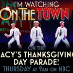 RT if youre watching us perform on the @Macys Thanksgiving Day Parade! #MacysParade #OnTheTown http://t.co/SgjpavII8r