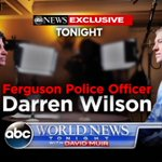 Now on @WNTonight: Exclusive interview with Officer Darren Wilson following #FergusonDecision http://t.co/9uwdXnI3m8