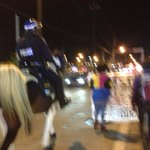 Heavy HPD presence alongside protesters in #Houston @KHOU #HouNews #MikeBrown #Feeguson http://t.co/dKTZ039zGV