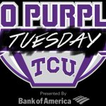 Remember that today is #GoPurpleTUESDAY in preparation for the TCU vs. Texas game on Thursday! http://t.co/GN9GCJfwQH http://t.co/WtO0MFysRO